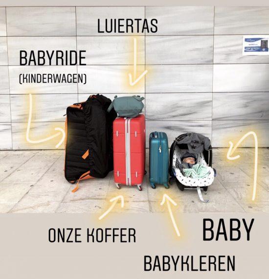 Met een baby op reis